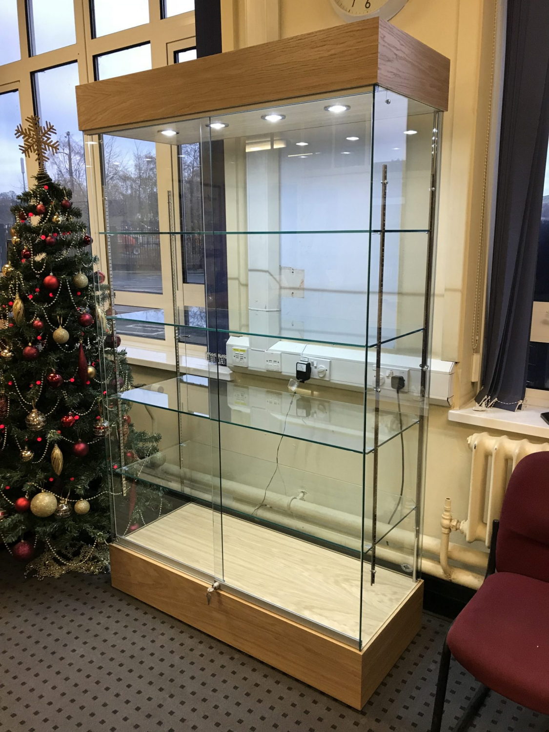 Trophy Glass display cabinet